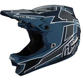 Troy Lee Designs D4 Composite Helmet, graph marine